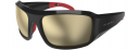 Black-Red - Brown Lens Silver FM - Polarized
