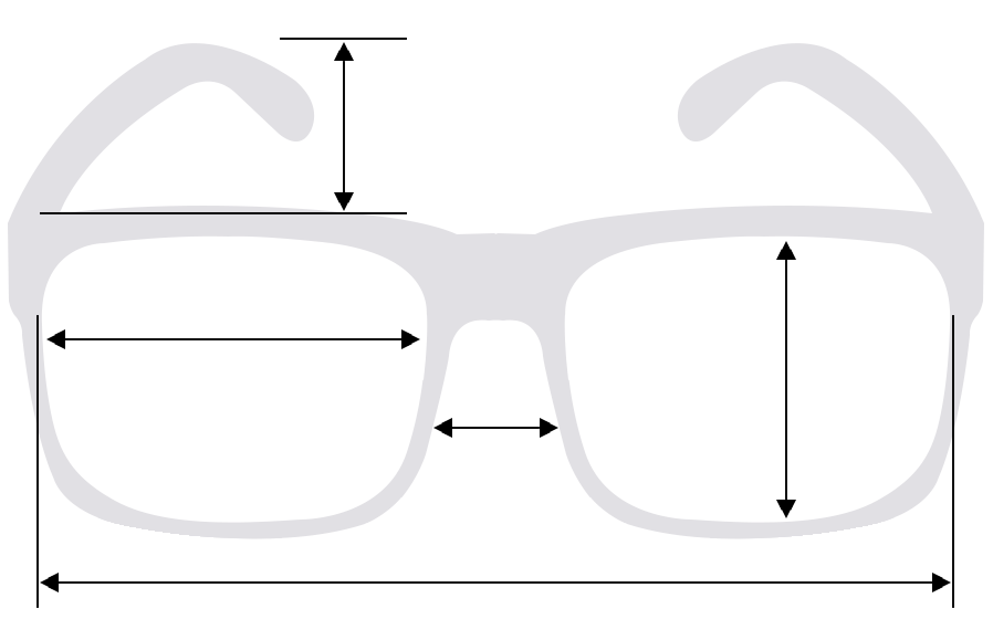 Sunglass Measurements